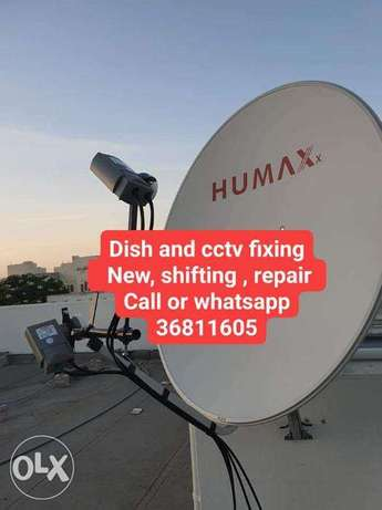 Our good fixing dish and cctv contact