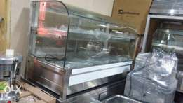 Food warmer 4plate up and down