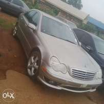 Mercedes benz C230, 2005 model golden colour