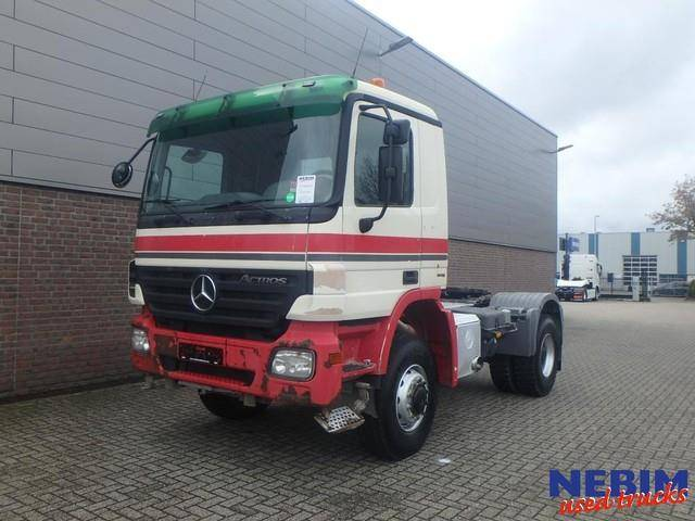 Mercedes-Benz Actros 2041 AS 4x4 Euro 5 HUB Reduction / EPS - 2007
