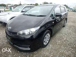 Toyota Wish Year 2010 Model Automatic 2WD 7 seater Black Color