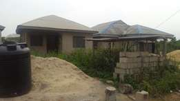2 Bedroom Bungalow on Half Plot of Land In Selewu Igbogbo Ikorodu
