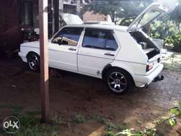 Golf mk 1 for sale or to swap for a big bakkie