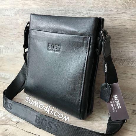 b499d9c87f32 Мужская кожаная сумка Hugo Boss через плечо: 1 750 грн. - Сумки ...