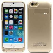 Backup Power Pack Case for iPhone 6 & 6s - Gold & Black