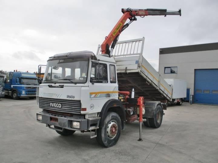 Iveco 190-30 H 4X2 + Palfinger PK 8000 - 1991