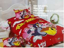 Kids cartoon bed covers