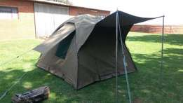 TENT. Bow Hennie CANVAS Tent. Size: 240 x 240 x 185 High