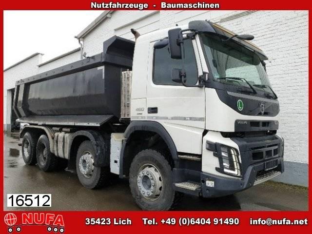 Volvo fmx 460/8x4 halfpipe 18 cbm carnehl - 2014