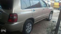 Clean tokumbo Toyota highlander in perfect condition