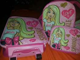 Barbie suitcase set