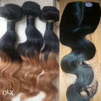 New Offer: Buy Pure Virgin Human Hair Weaves and Get a Free Closure