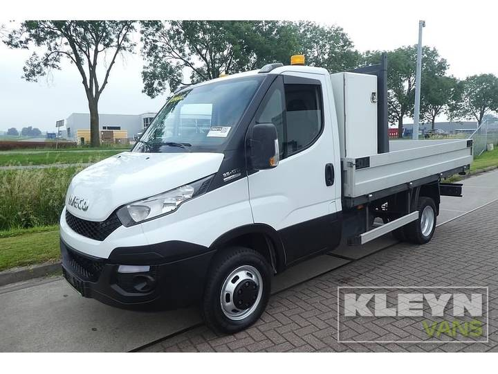 Iveco DAILY 35C17 ac automaat 3.0 ltr - 2016