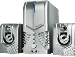 Audionic Vision 3 2.1 Channel Hi Fi speakers with FM radio