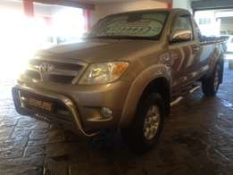 2007 Toyota 2.7vvti hilux single cab,FSH, R179995 IMMACULATE CONDITION