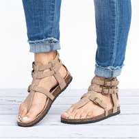 Female comfortable sandals