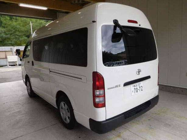 T Regius Van Jun High Roof 3000 Cc Diesel Engine 2014 White Colour Mlolongo - image 2