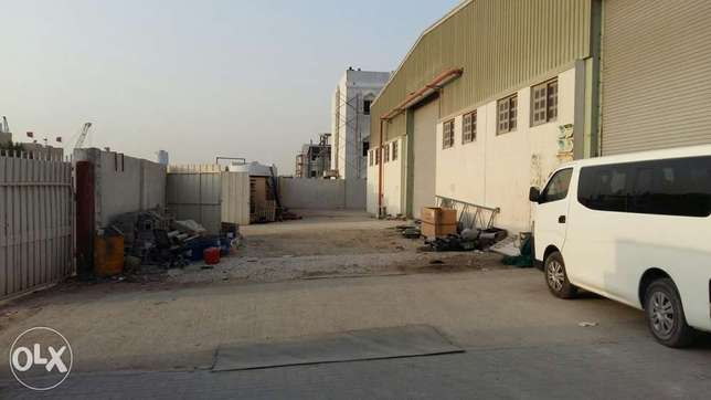 2500 sqmr Warehouse & 20 Room for rent