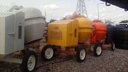 Concrete mixer for rent
