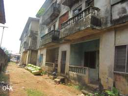 blocks of flat on 975m2 with CofO for sale on egbe-ejigbo road