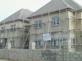 Uncompleted twin duplexesfor sale at Guzape