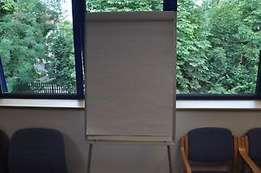 Flip chart stand at 9,999.
