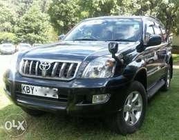 Toyota Landcruicer Prado with Sunroof