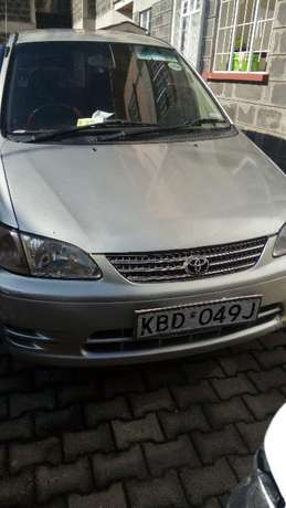 A Clean , Lady owned and driven 4WD silver Toyota Spacio 1760cc Nakuru East - image 1