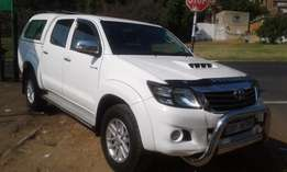 2013 model Toyota Hilux Bakkie 3.0 D4D DIESEL AUTOMATIC For Sale