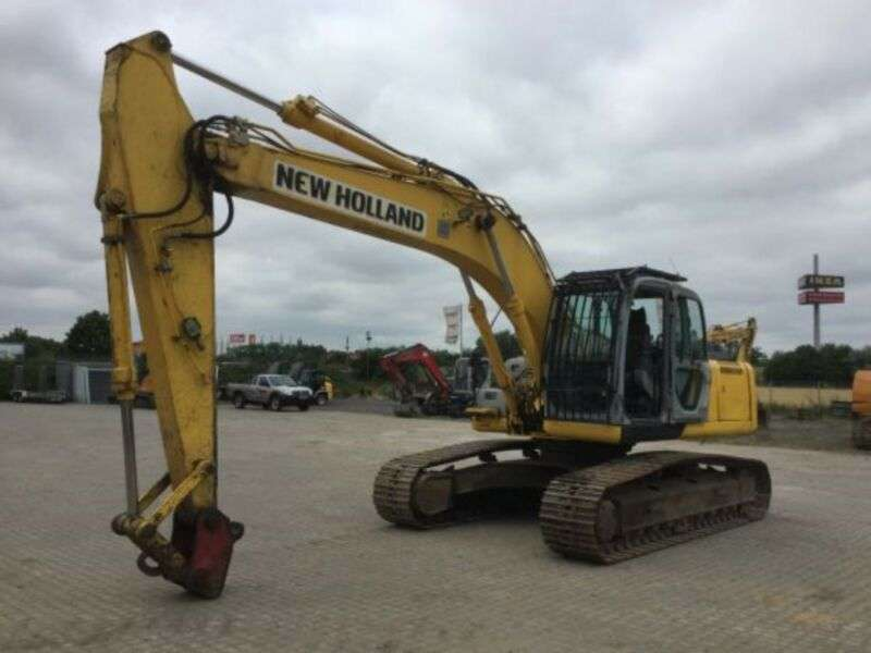 New Holland E 245 B - 2008