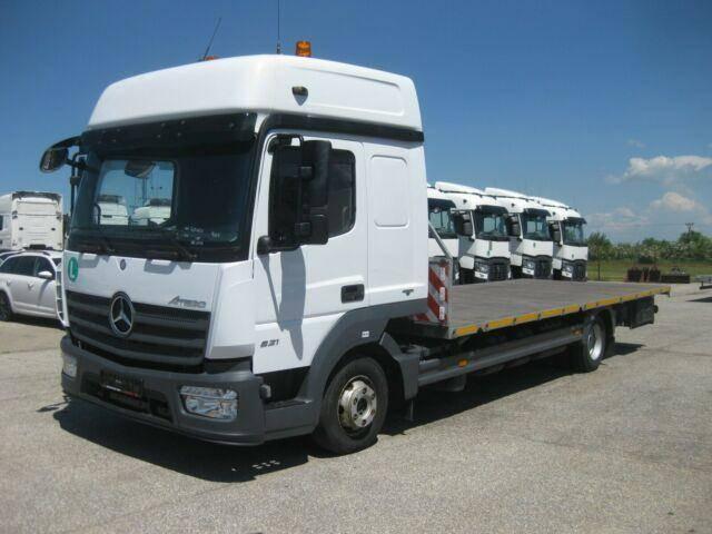 Mercedes-Benz Atego 821 Plattform ZUG!!! Containertransporter - 2014