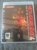 PS3 Games - Metal Gear Solid 4