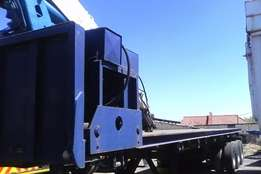 Mobile crane trailer for sale