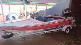 Challenger 16ft speed boat 85HP Yamaha