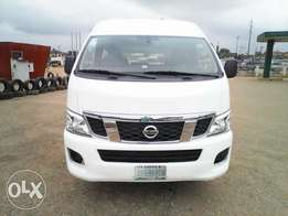 Clean 2013 Nissan Urvan few months used Brand new bus