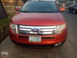 Super clean Nigerian used Ford Edge 2009 Model Tokunbo Grade