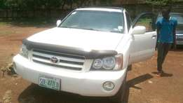 Toyota Highlander 2004 Neatly Used