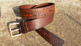 Casual jeans leather belts