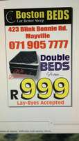 Double beds from R999!