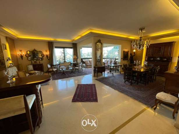 250 Sqm luxury apartement for sale in Rabieh/mtayleb prime location