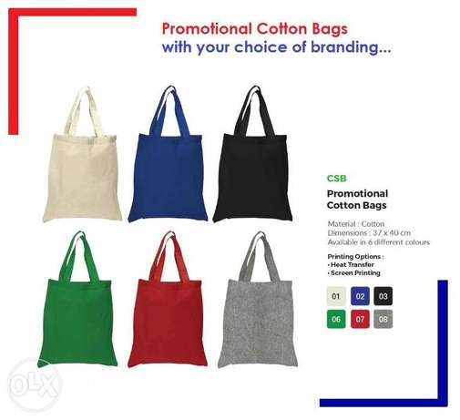 Reusable shopping bags with printing of your design