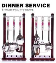 Dinner Service 7 Piece Set Perfect For Your Kitchen