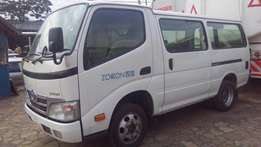 Toyota dyna white in color