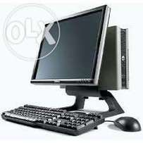 Valid when stock last ultra slim desktops complete with 17 inches scre