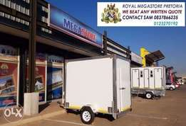 Heavy duty Vip toilet Mobile Freezer and Chillers