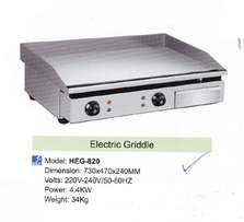 550mm electric f/top griller t/model