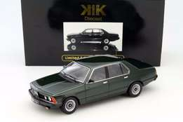 BMW 733i 1977 green metallic 1:18 KK-Scale Die cast model - NEW IN BOX