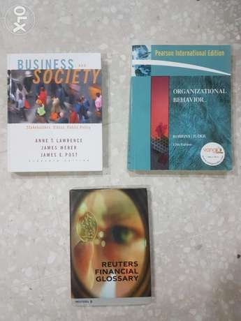 Business, Finance, Statistics, Economics Textbooks [3KD each]