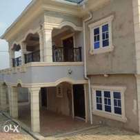 Tastefully 5Bedroom Duplex with 2nos of 3bedroom flats at off Iju Road