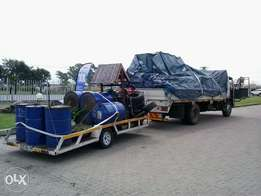8Ton Truck with trailer for hire